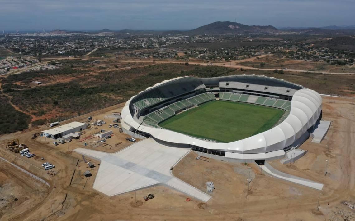 Para junio quedará concluido el nuevo estadio de futbol ...