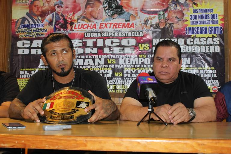 Llegan a Mazatlán las estrellas del Consejo Mundial de Lucha